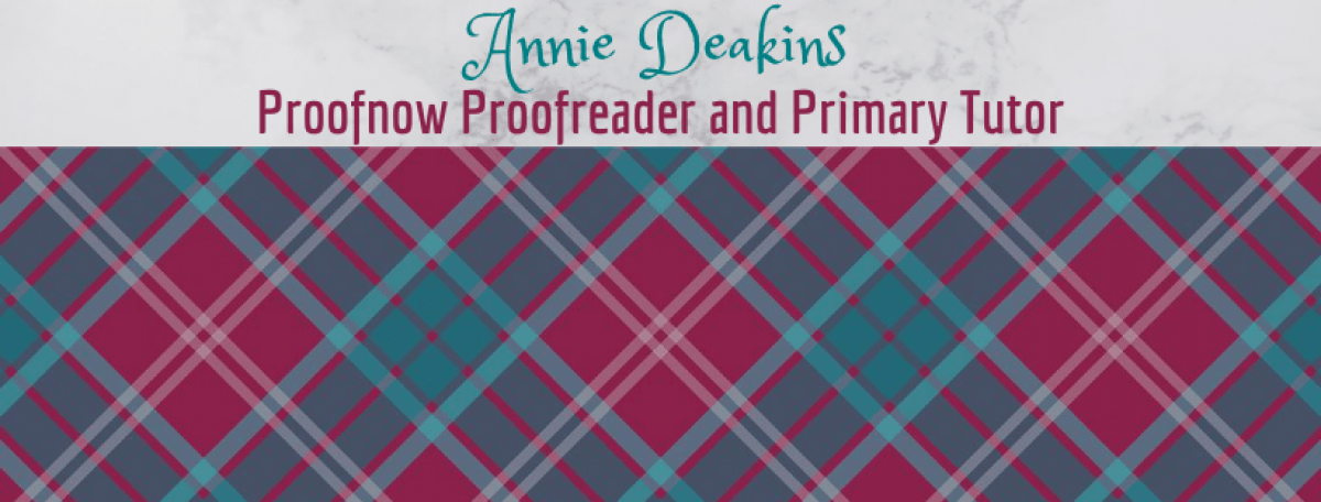 Proofnow Proofreader & Primary Tutor